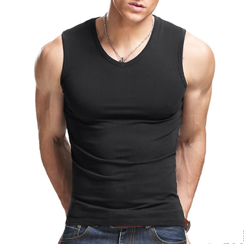 552614d9c29 2019 2017 Men Boy Body Compression Base Layer Sleeveless Summer Vest  Thermal Under Top Tees Tank Tops Fitness Tights High Flexibility From  Xbbjk