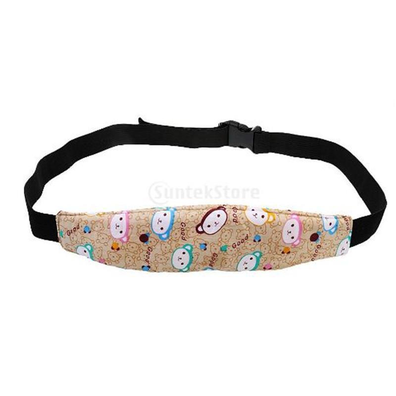 Красочный детский ремень сну младенческая безопасность головы владельца сна крепеж крепеж полоса ремешок детское каретка защитный ремень ребенок356
