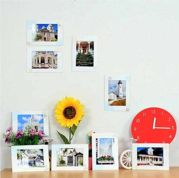 4x6 Inches Wall Paper Photo Frames For Home Decoration, Photo Frame ...
