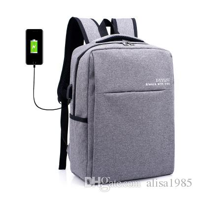 2017new Style Laptop Backpack External Usb Charging Computer ...
