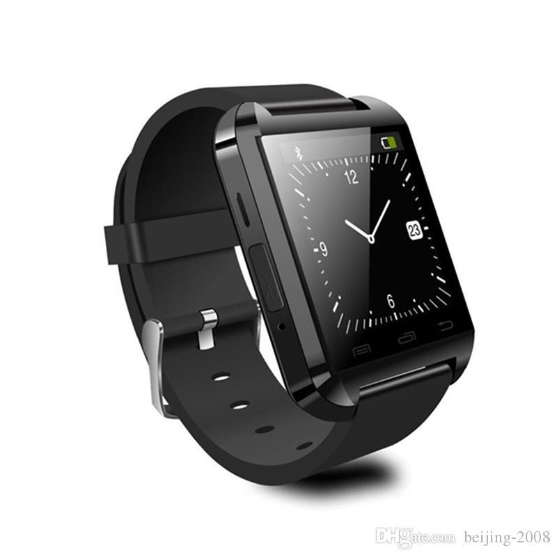 U8 Smart Watch Relojes de pulsera Bluetooth Smartwatch Anti-pérdida de 1.5 pulgadas para iPhone Samsung Teléfonos celulares Andriod y sistema IOS
