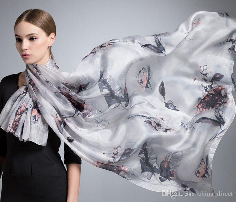 Underbar 100% Silk Scarf Shawl Scarf Scarves Scarf / # 1428