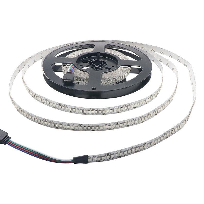 New Arrival 5M/ROLL 2835 RGB LED Strip Non-waterproof 5M 1170LED 234LED/m DC 12V Fita LED Light Strips Flexible Tape
