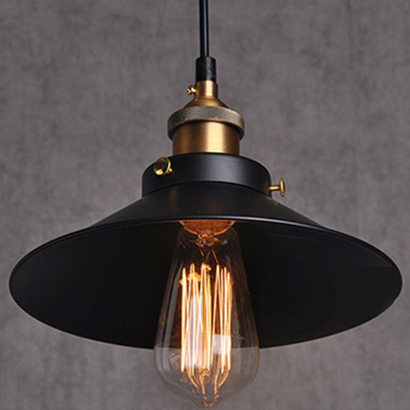 Iron pendant lights vintage lamp dining room industrial for Interior design lighting resources