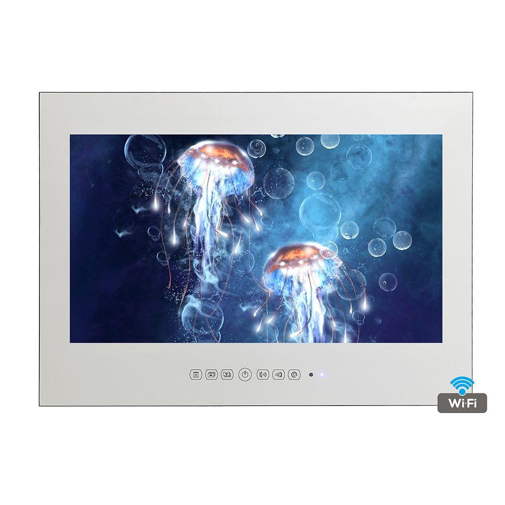 42 Inch HDMI Advertising Mirror Display Hotel Television Luxury ...
