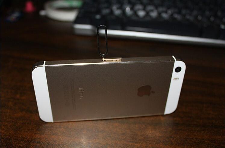Neue Sim Karte Nadel Für Apple IPhone 7 6 s 5 4/4 S 3GS IPad 2 Handy Werkzeugbehälter Halter Eject Pin metall