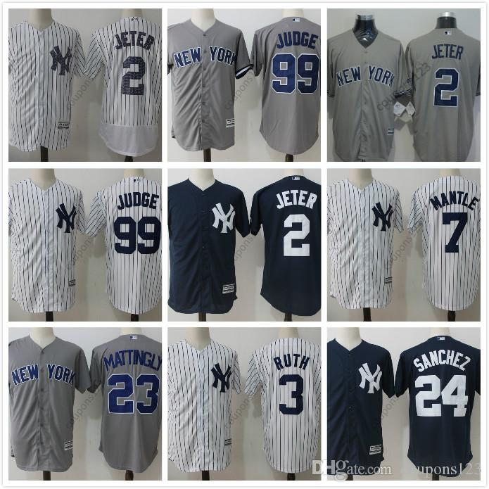 79d2f9dd4 ... 2017 Stitched Mens 23 Don Mattingly Usa Flag Fashion Baseball Jerseys  New York Yankees 2 Derek