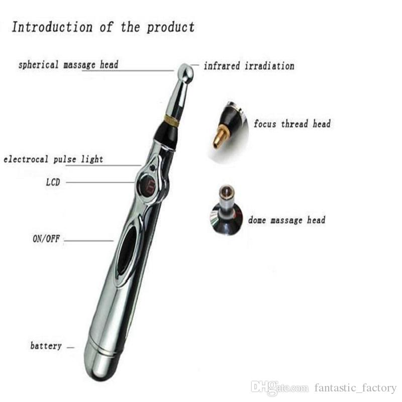 Popular Meridian Acupuncture Pen Heal Massage Pen Energy Meridians Pen Electronic Massage The Health Instrument