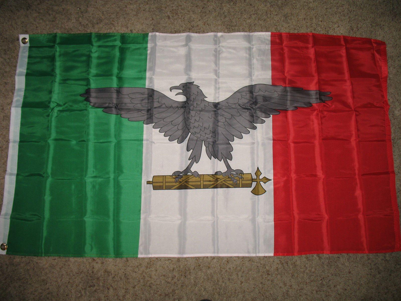 Acquista italia guerra di guerra italiana ww2 eagle indoor for Bandiera di guerra italiana
