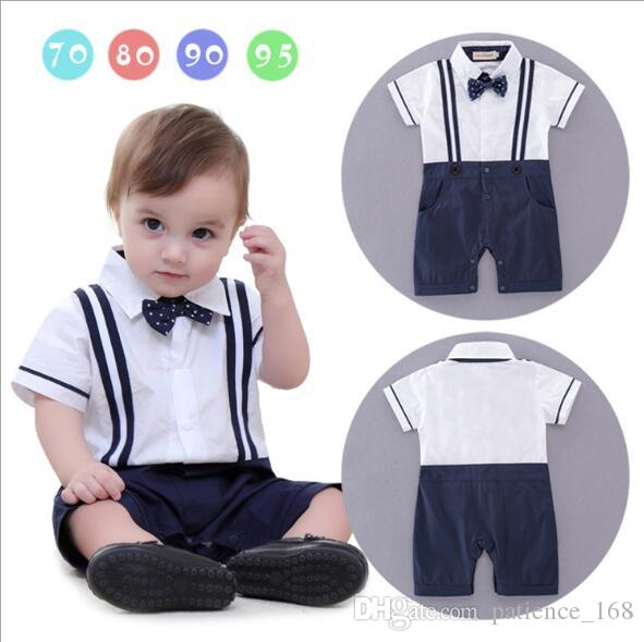 51711169a 2019 In Stock New Style Summer Style Baby Kids Cute Gentleman Short ...