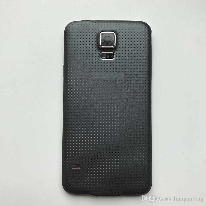 NOUVEAU Full Housing Back Case Couverture de la batterie pour Samsung Galaxy S5 2015 G900 G900V Noir