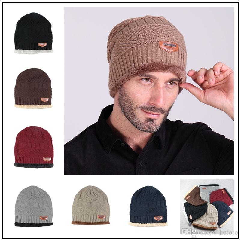 325f8a69 New Skullies Beanie Brief Male Winter Casual Knitted Hat Sports ...
