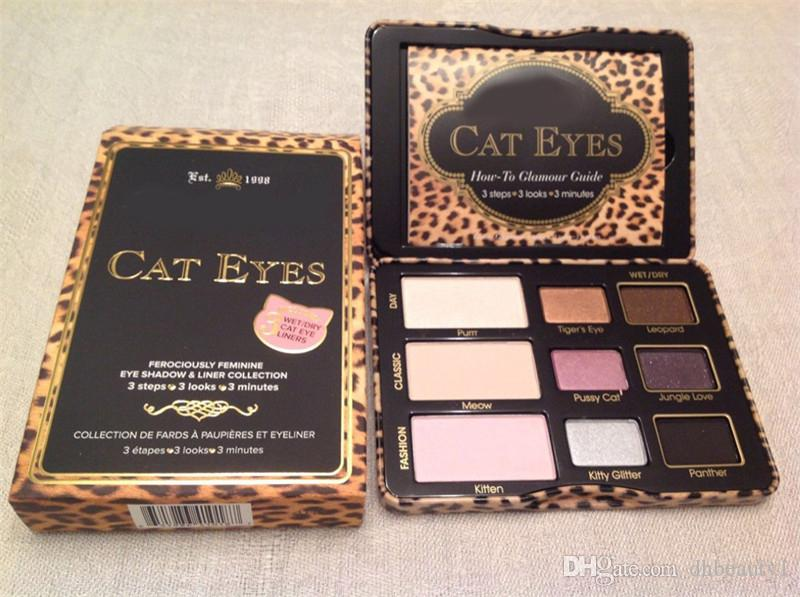 High Quality !!Faced sugar pop /Totally Cute / Cat Eyes Eyeshadow Palette brand makeup highlighter Blush face Cosmestics