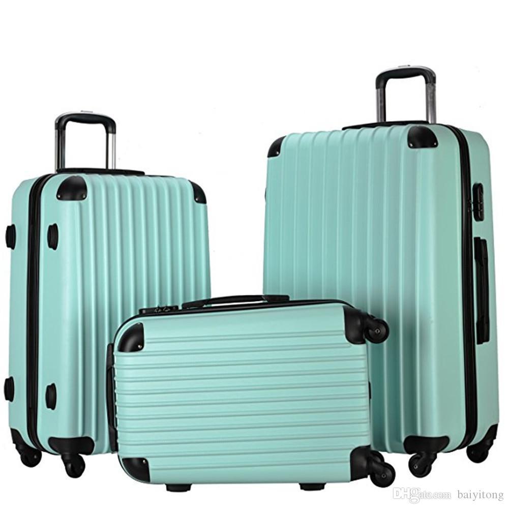 67d350d54e7b9 Satın Al 20 Inç 24 Inç 28 Inç Hafif Spinner Arabası Abs Haddeleme Bagaj  Setleri Seyahat Çantaları Okul Bavul Kılıfları Taşımak, $99.5 |  Dhgate.Com'da