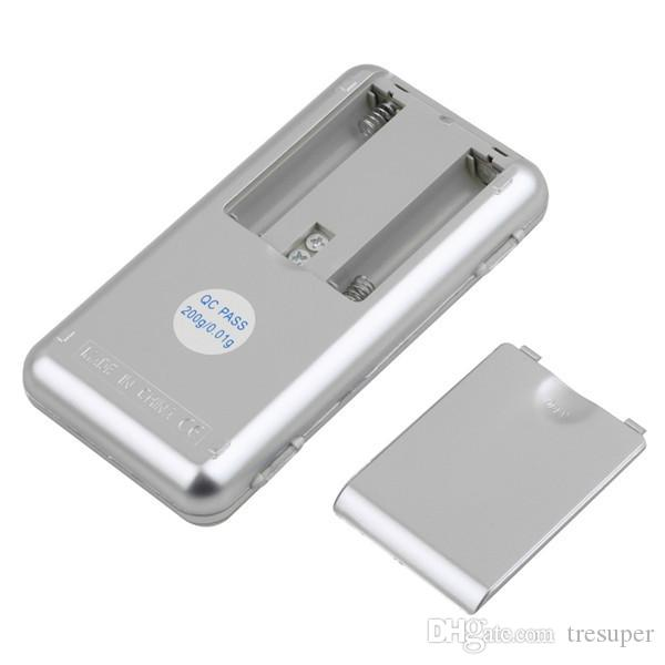 MH01 높은 품질 200g / 0.01g 미니 디지털 포켓 보석 무게 규모 저울