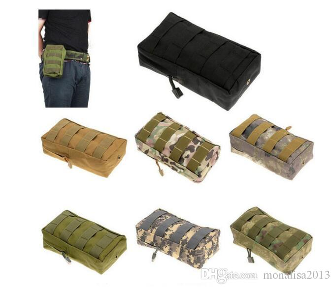 Tactical MOLLE PALS Modular Waist Bag Pouch Utility Pouch Magazine Pouch Mag Accessory Medic Tool Pack