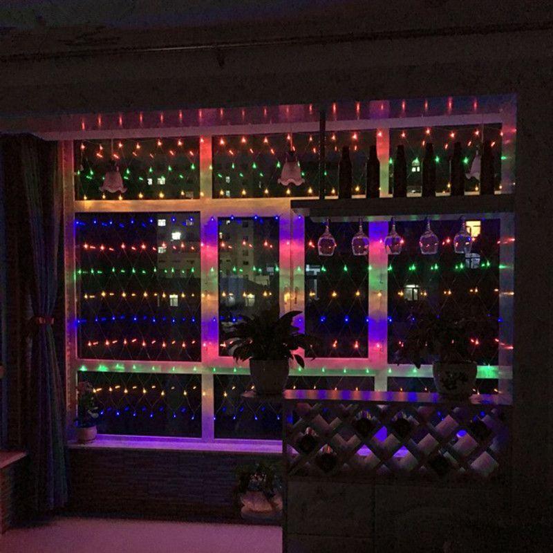 Grosshandel Dekoration Led Licht 120 Leds Net Licht Weihnachten