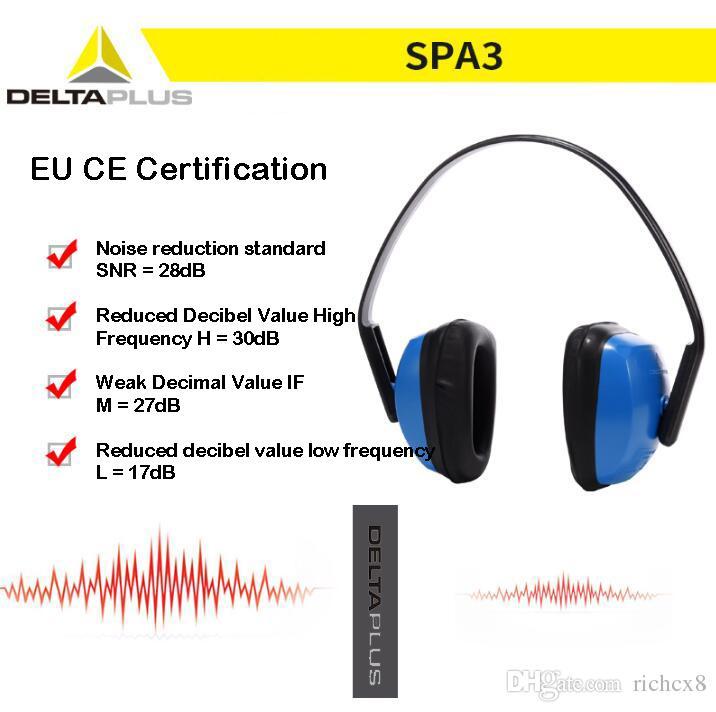 DELTA ses yalıtımlı kulakiçi kulaklıklar uyku gürültü koruması profesyonel uyku kulak bardak antisnoring öğrenme iş koruma kulaklık Earmuffs