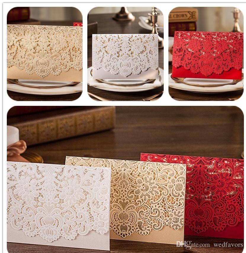 Hot selling Wholesale Personalized Wedding Invitation Cards