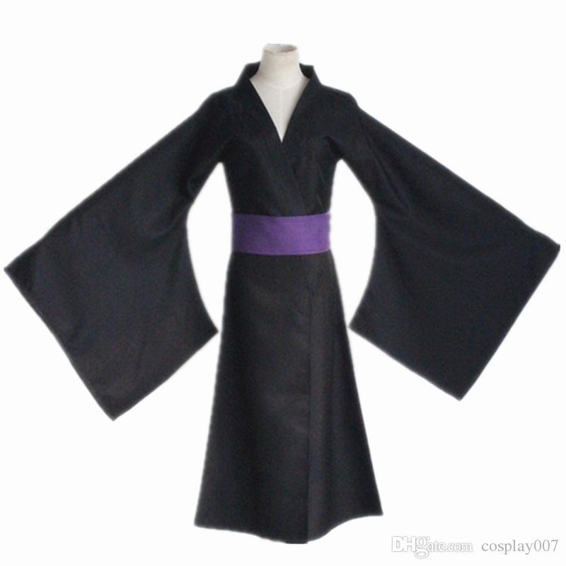 Yato cosplay disfraces kimono negro anime japonés Noragami ropa Masquerade / Mardi Gras / Carnival disfraces suministro de stock