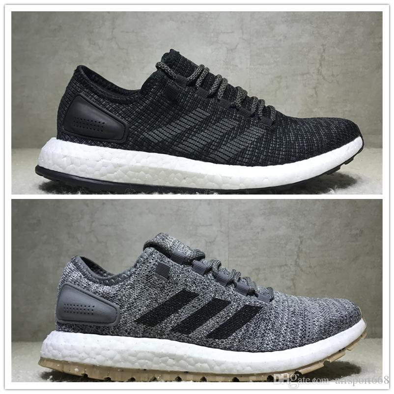 Adidas Pure BOOST LTD 2017 Men's Running Shoes PureBOOST Size 40-45 Men Nmd  R1 Running Shoes For Men Boots Ultra Boost Shoes Sneakers Running Shoes ...
