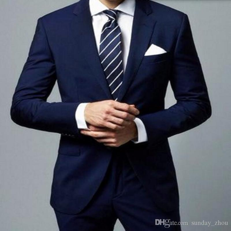 The average man is better off owning charcoal gray or navy blue suits – since they're appropriate enough for most occasions. Lighter grays and browns are the next best options (depending on how casual an event is).