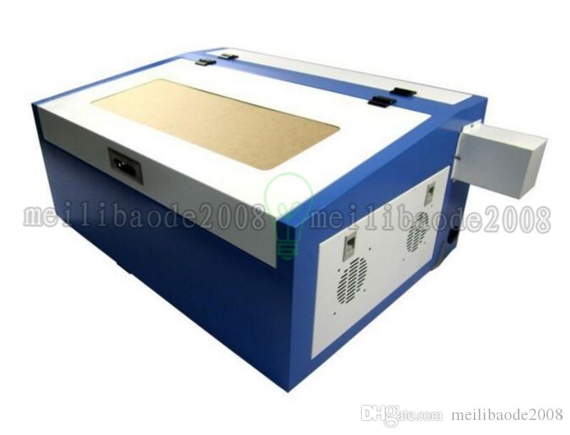 NOVO 50w Desktop co2 mini gravador de laser 3040 CNC máquina de corte para madeira, couro, acrílico etc. com suporte a USB. MYY