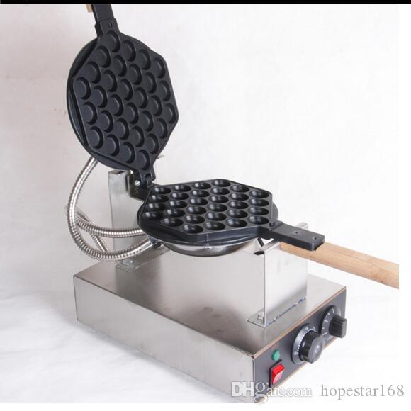 Гонконг Яйцо Waffle Waffle Maker Macher с сертификацией CE 220V 110V яичные пузырьки пузырь Waffle купить машину высокого качества