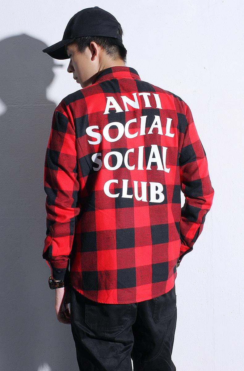 2017 Hono Li Summer Kawaii Anti Social Club Palace Anime Men Red ...