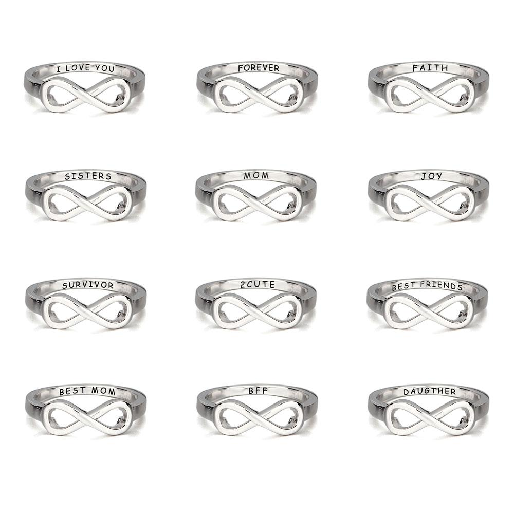Rings With Initials Engraving Cheap Promise Rings Jewelry