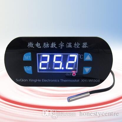W1308 Adjustable Digital Cool Heat Sensor Temperature Controller Thermostat Switch DC 12V withTemperature correction Switch -55-120C