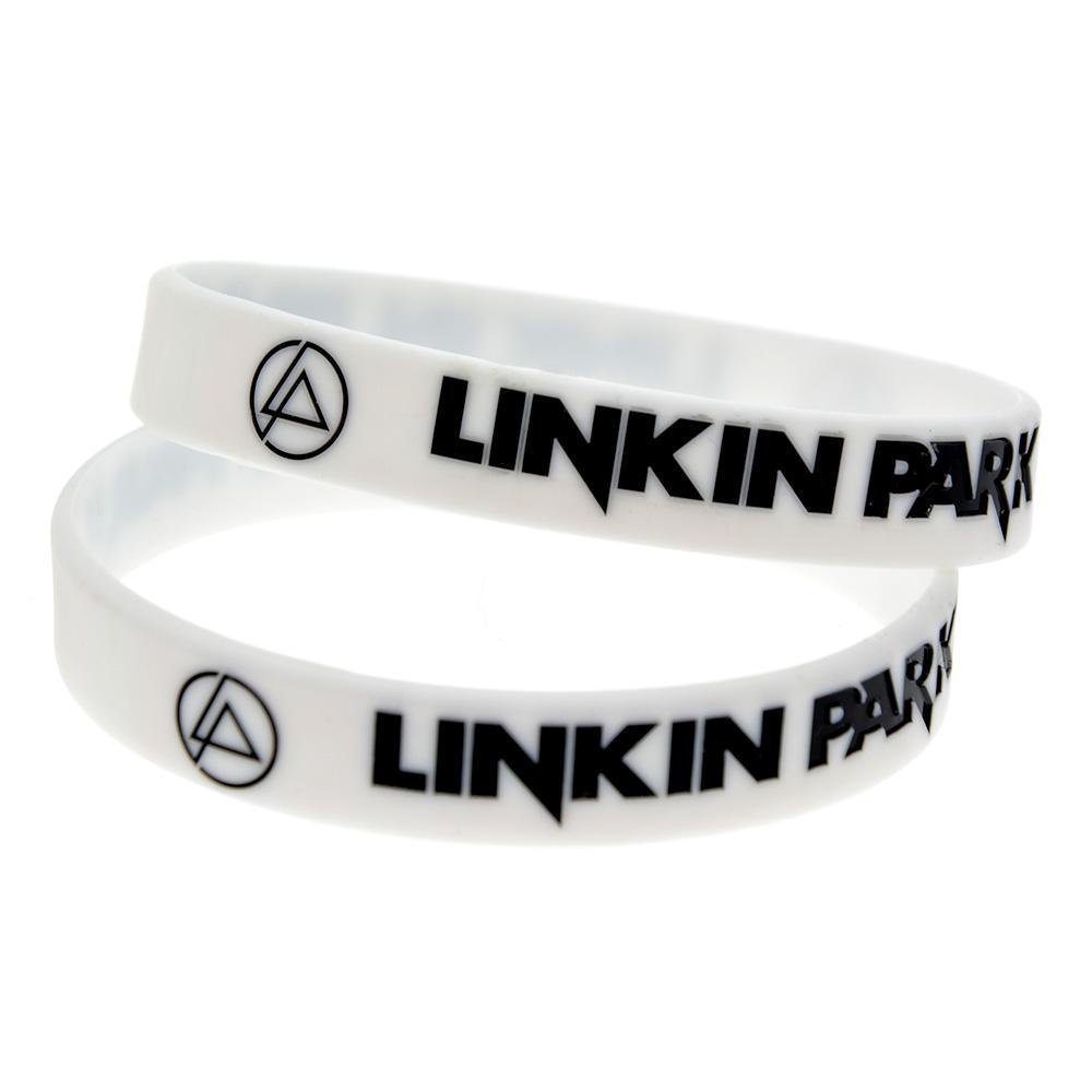 100шт Linkin Park Силикон браслет для меломанов подарки Носите его Поддерживают Idol