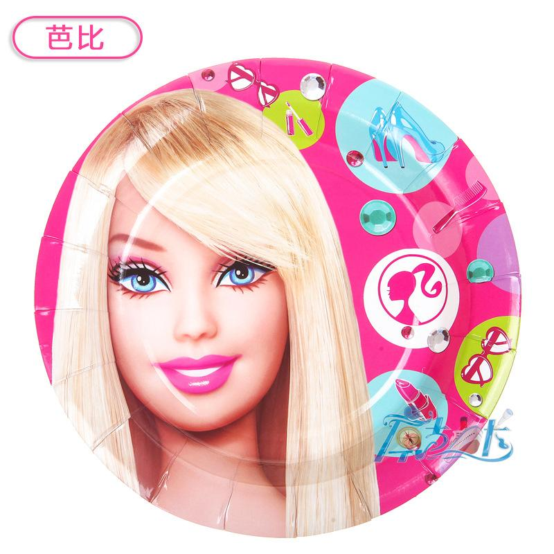 2018 Wholesale Barbie Doll Theme Kids Birthday Party Printed Paper Plates For Birthday Party Decoration Event Party Supply From Sophine11 $19.62 | Dhgate.  sc 1 st  DHgate.com & 2018 Wholesale Barbie Doll Theme Kids Birthday Party Printed Paper ...