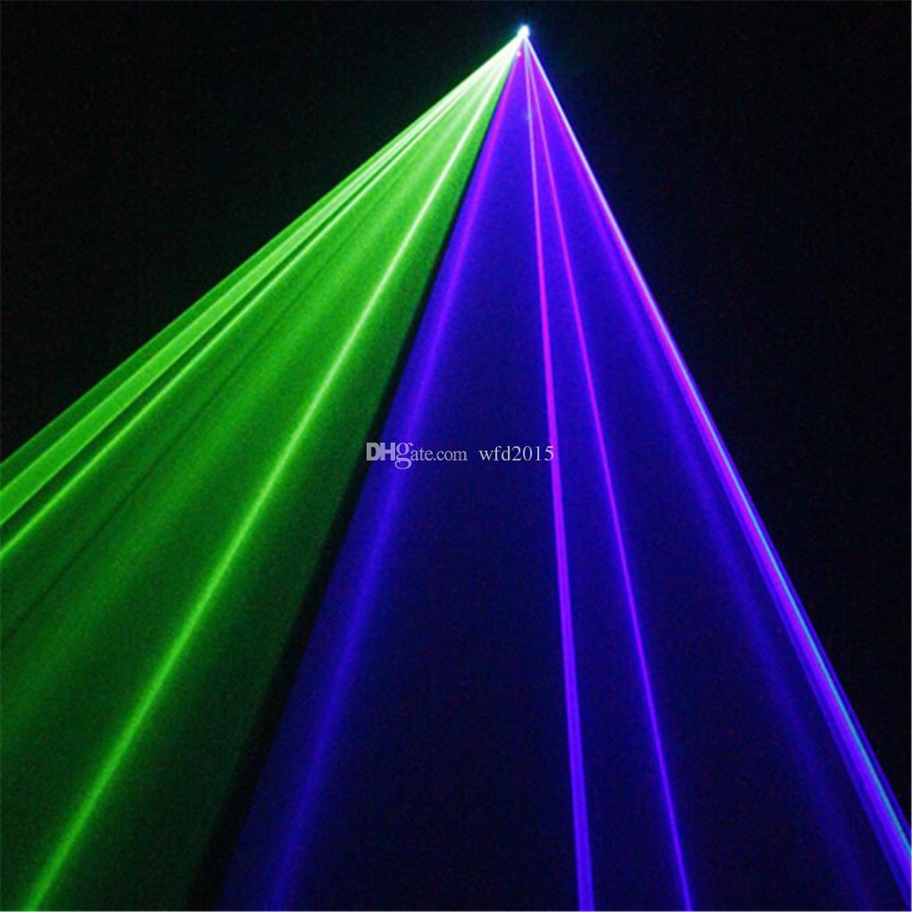 Mini 200mw 3D Green Blue Mixed Cyan DMX 512 Remote Sound Projector Stage Equipment Light DJ KTV Show Holiday Laser Lighting TDM-GBC200