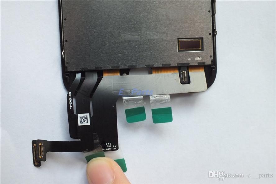 100% orijinal orijinal aydınlatmalı + orijinal ic + mükemmel 3d dokunmatik komple ekran digitizer tam meclisi iphone 7 iphone 7 artı lcd