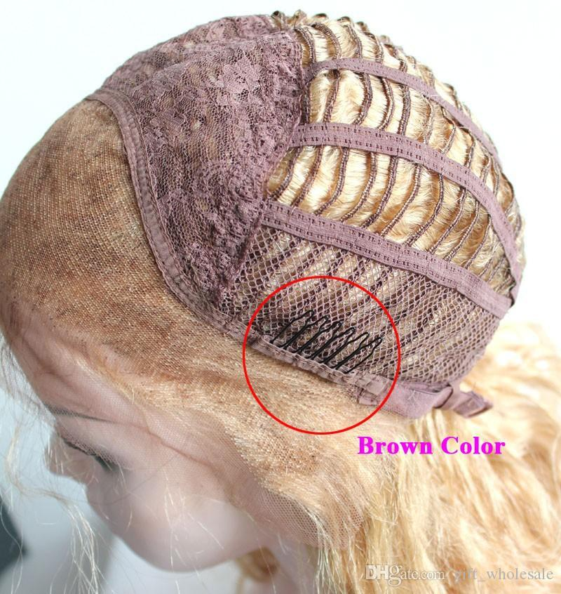 Black Coffee Wig clips Wig combs Clips 6teeth For Wig Cap and Making Combs hair extensions tools