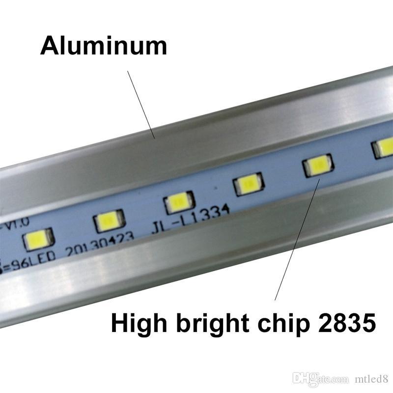 LED T8 Röhre 0,6m 2ft 12W 1100LM SMD 2835 Licht Lampen 2 Fuß 600mm 85-265V LED Beleuchtung fluoreszierend