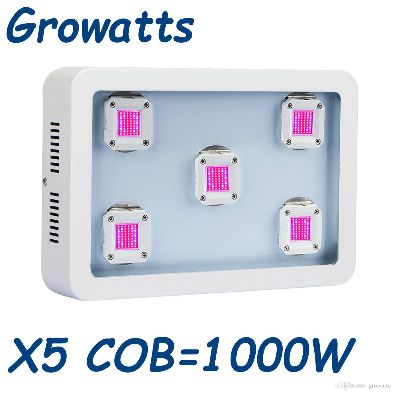 Cob Led Grow 1000: 2017 Latest COB Led Grow Light 1000w Full Spectrum Plant