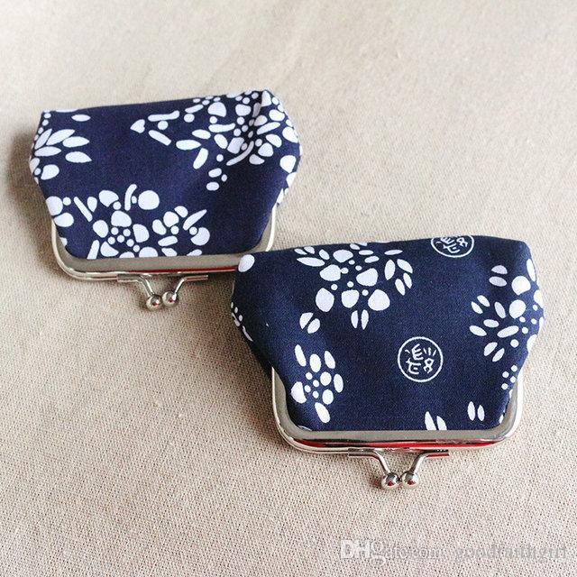 Fashion Hot Vintage stile etnico fiore portamonete portachiavi tela portamonete portafogli piccoli regali cambiare borsa frizione borsa presente natale