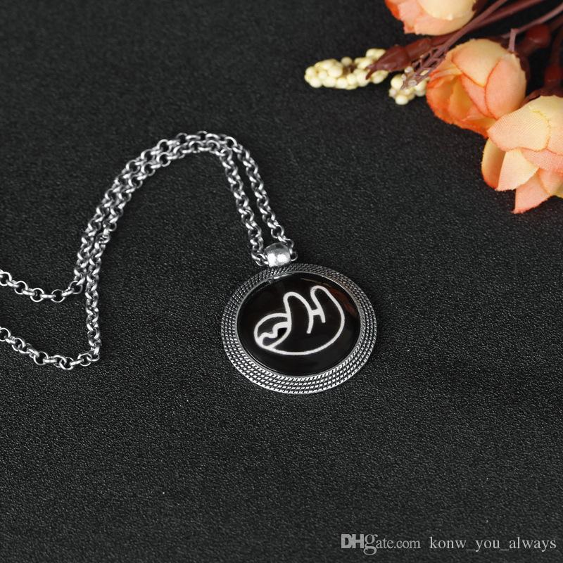 Sloth Luminous Pendant Necklaces