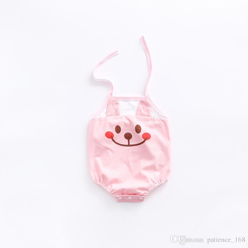 2017 베이비 키즈 3 색 새로운 스타일 새 도착 뜨거운 유아 아기 판매 여름 고품질 면화 귀여운 개구리 아기 매달려 목 장난 꾸러기