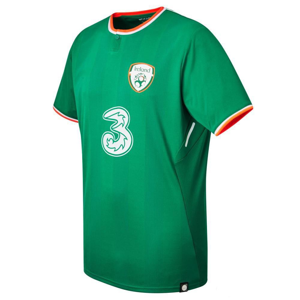 3fb8a1aa0 2019 2017 2018 Ireland Soccer Jerseys Republic Of Ireland National Team  Jerseys 2018 World Cup Ireland KEANE Green Football Shirts WC Jersey From  Myjersey