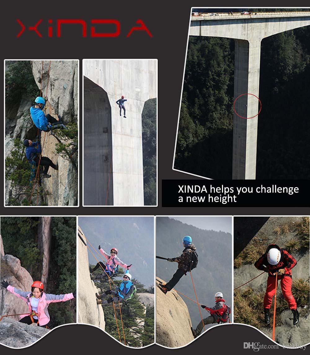 XINDA XD-A9501 Demeti Büstü Emniyet Kemeri Açık Kaya Tırmanışı Koşum Rappelling Ekipmanları Demeti Emniyet Kemeri ile Taşıma Çantası toptan