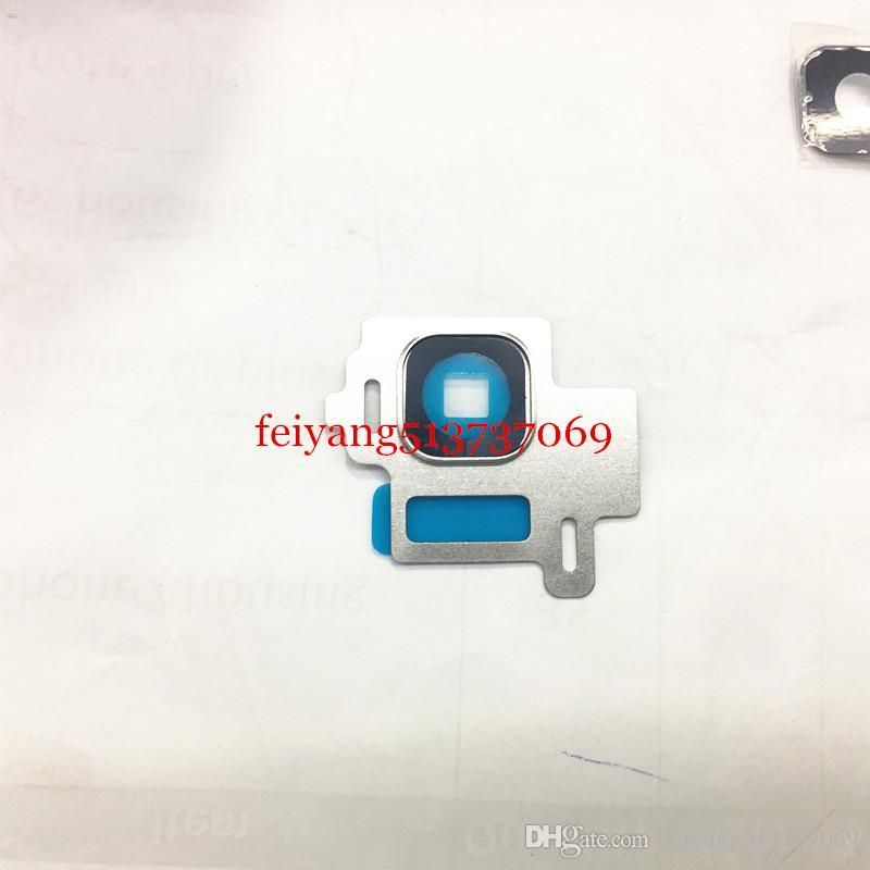 10 adet / grup Orijinal YENI Arka Kamera Cam Lens Kapağı Çerçeve Samsung Galaxy S8 Artı G950 G955 S8 Arka Kamera Lens Çerçeve Tutucu Kapak
