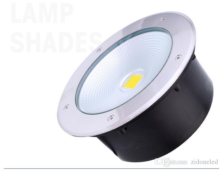 LED U-Licht im Freien begraben Bodeneinbauleuchte wasserdicht IP65 Landschaft Treppenbeleuchtung 10W / 20W / 30W / 40W / 50W AC85-265V DC12V