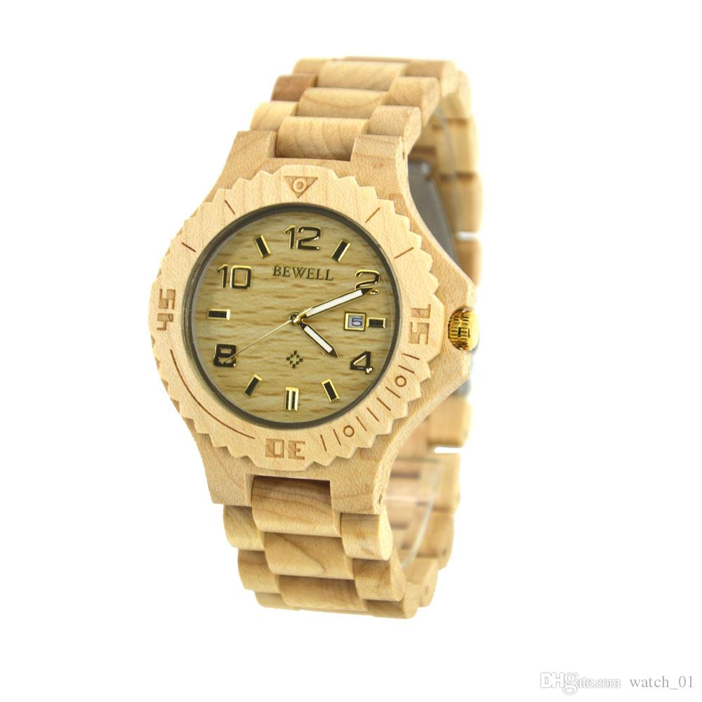 customized china shenzhen factory watches sandalwood free pin selling logo