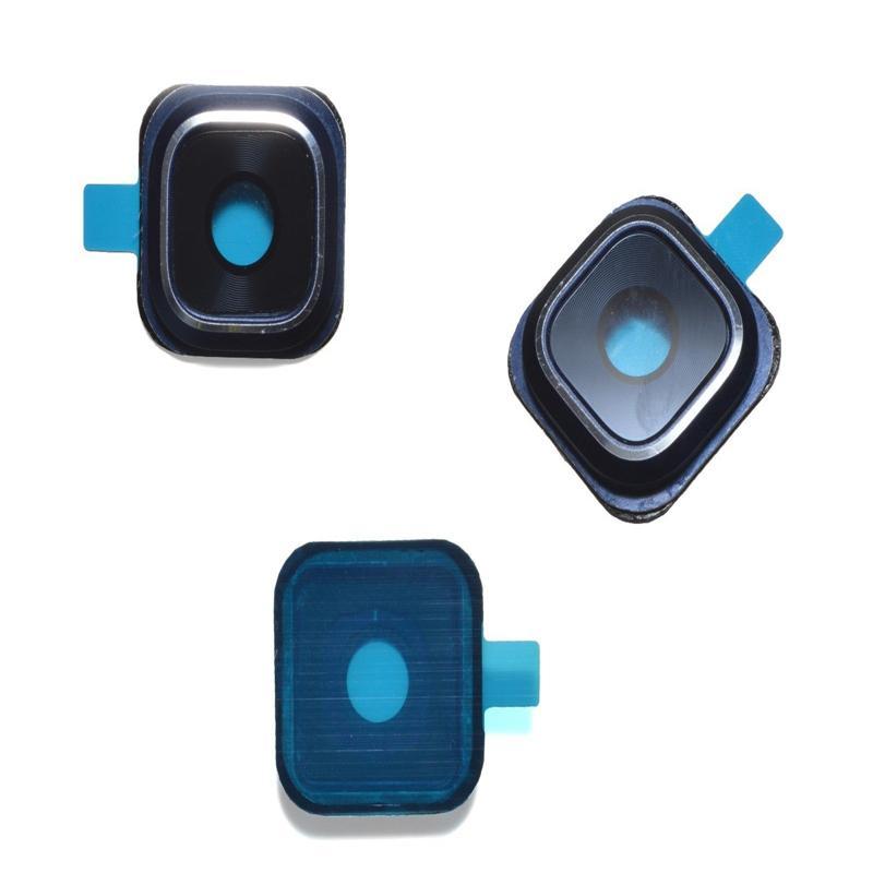 100 UNIDS Cámara cubierta de lente de cristal para Samsung Galaxy S5 S6 edge G9200 G9250 S6 Edge Plus G9280 Nota 5 S7 Edge Repuesto parte libre de DHL