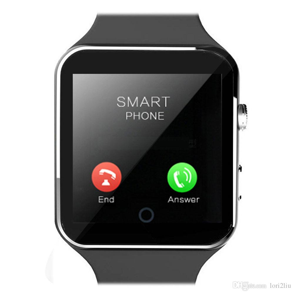 X6 Smartwatch X6 Smartwatch Sport Watch For Apple 7 7s ...  Iphone Watch Phone