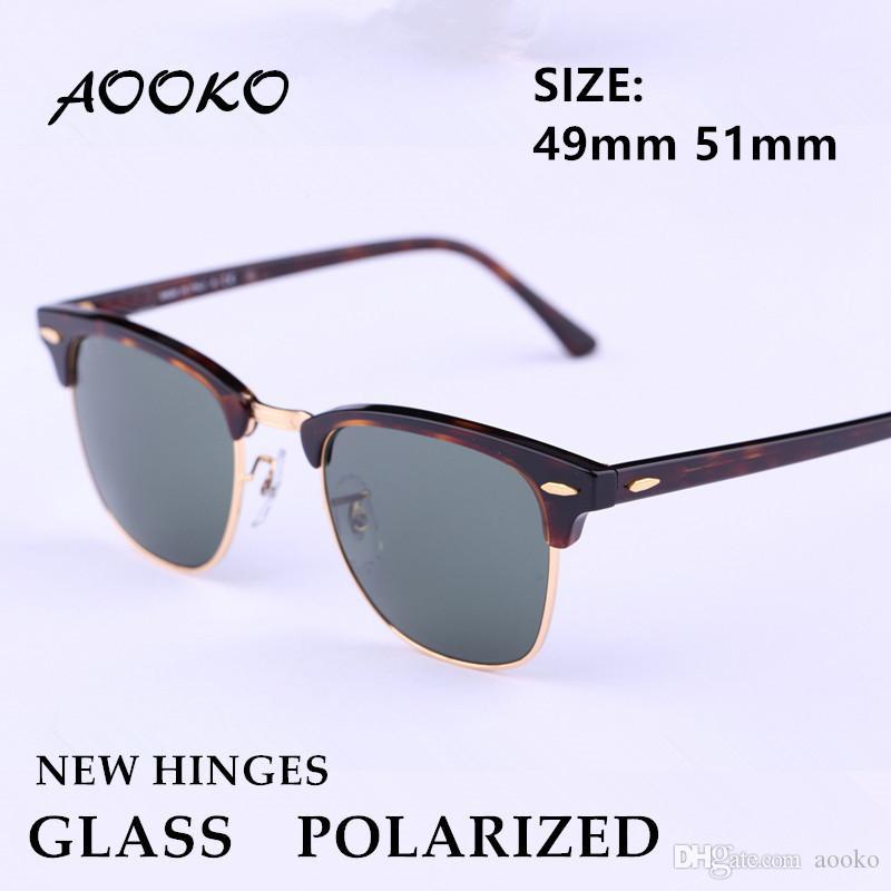362446ace1 Compre AOOKO Nuevas Bisagras Gafas De Sol Polarizadas De Calidad Superior  Hombres Maestros Gafas De Sol Mujeres Gafas De Protección Sunglass Rectas  Sin ...