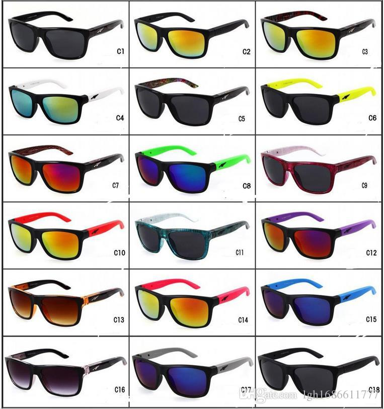 New Style Removable Leg Multi-Colors Biking Sunglasses Colorful Films Unisex Cool Sun Glasses Hipster Sunglasses Outdoor Sports Eyewear